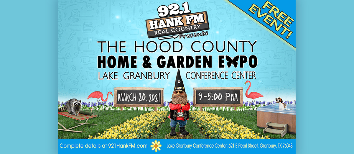 Visit Us at the Hood County Home & Garden Expo on March 20th!